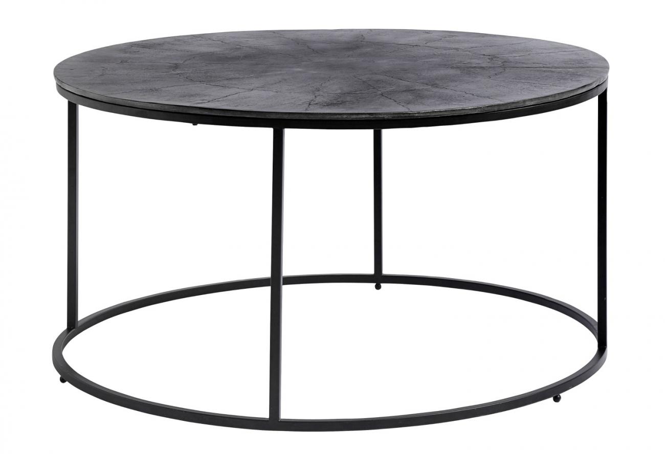 Soffbord Round - Aluminium/Järn - Köp möbler och inredning på ...
