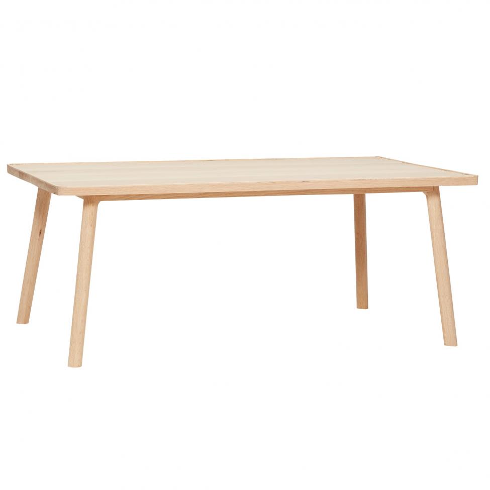 Bänk/soffbord - Natur/Ek 120cm