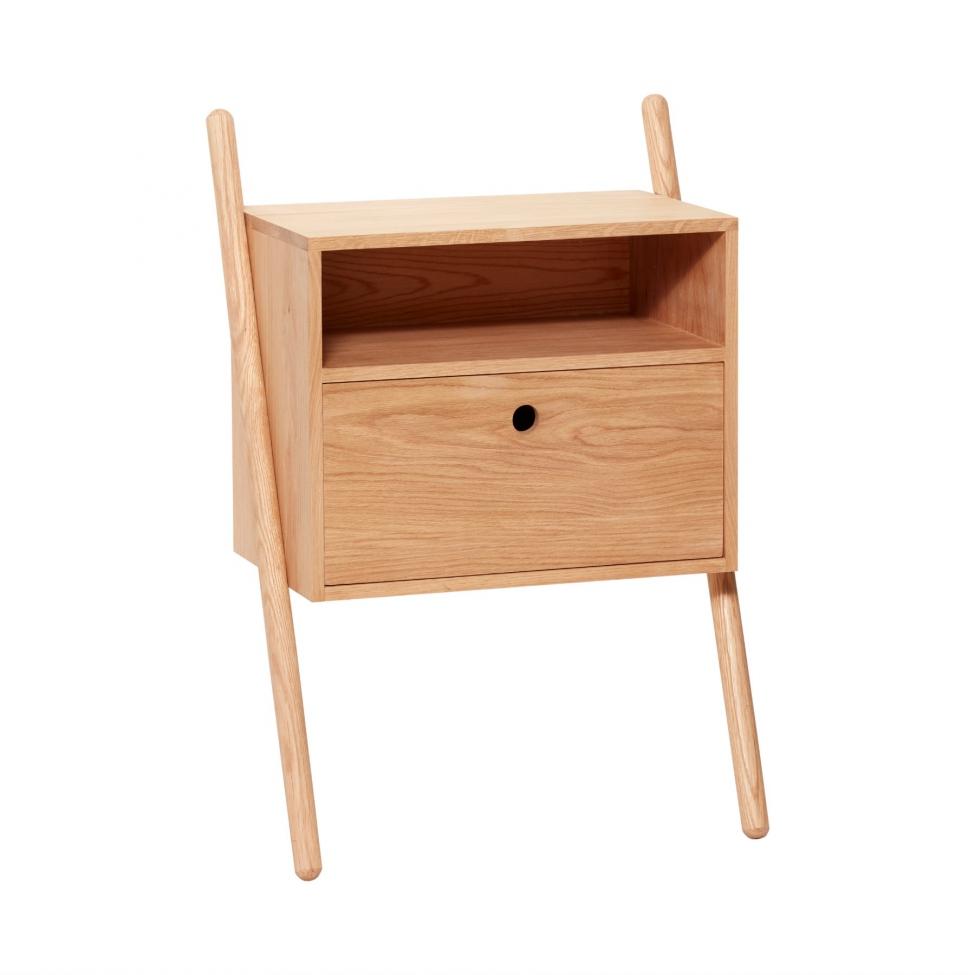Sängbord/Byrå - Ek Natur