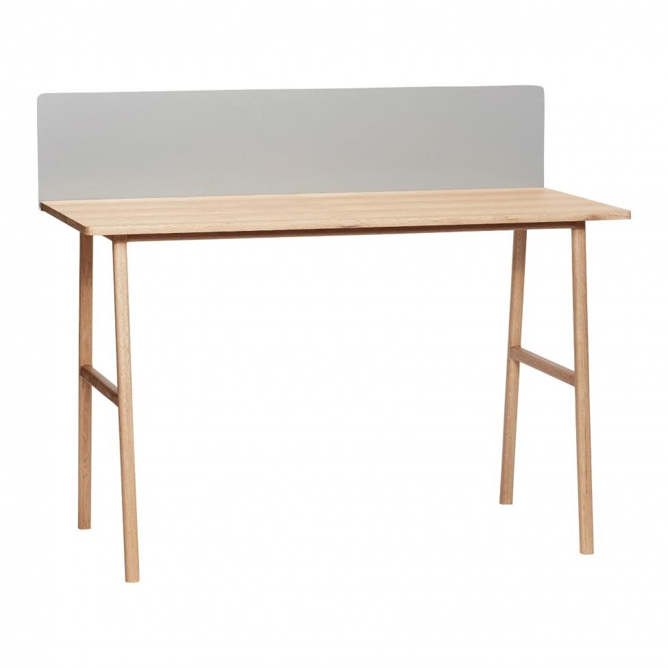 Skrivbord - Ek/Metall