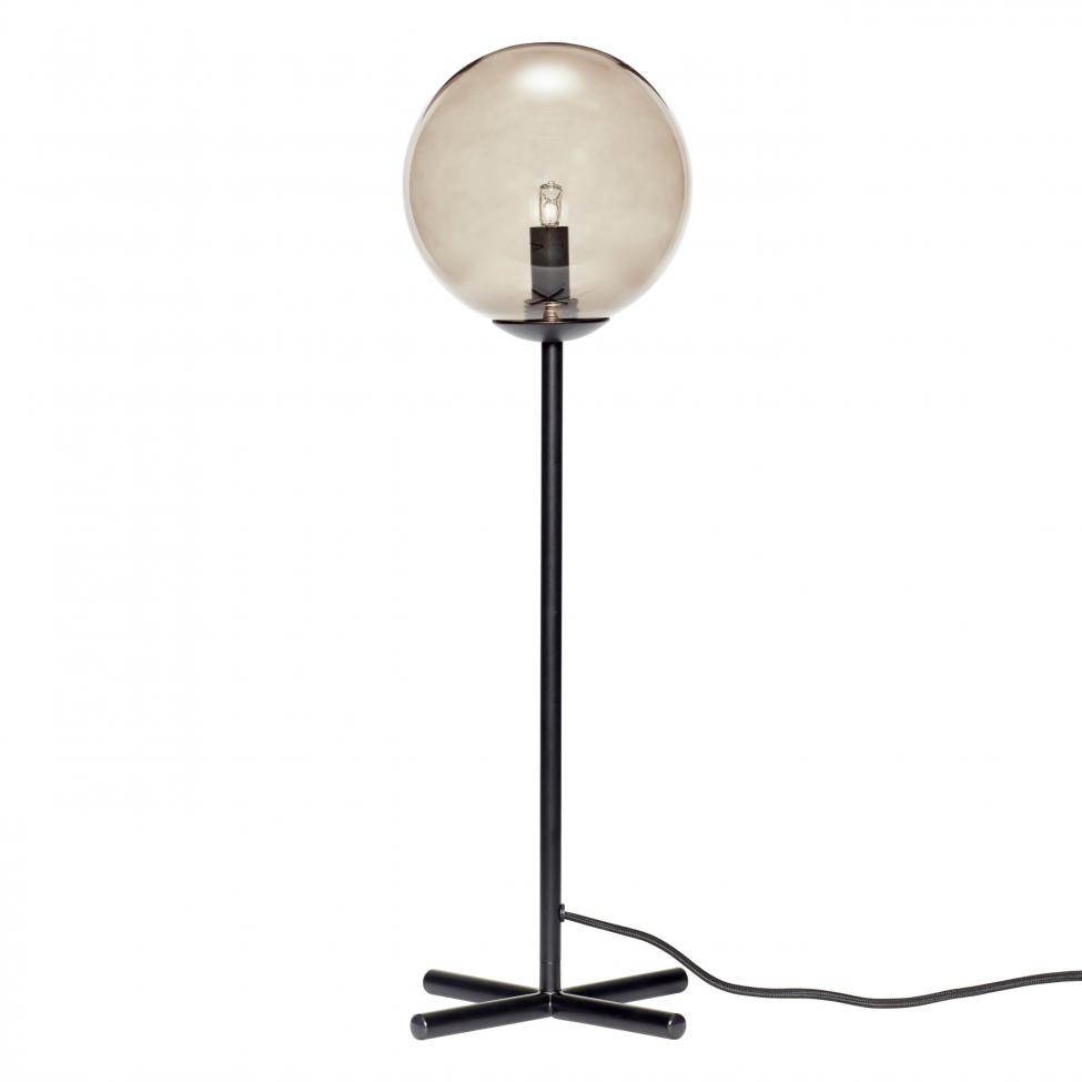Bordslampa 'Bulb' - Grå/Svart