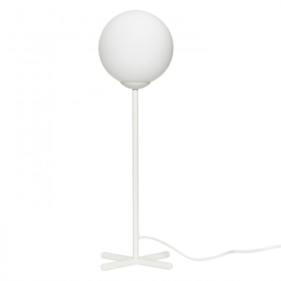 Bordslampa 'Bulb' - Vit/Metall