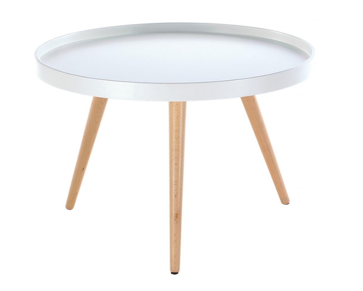 Soffbord - Nordic (Vit)