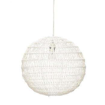 Hängande rund lampa Vit | Lampor - Belysning - Inredning online : taklampa rund : Taklampa