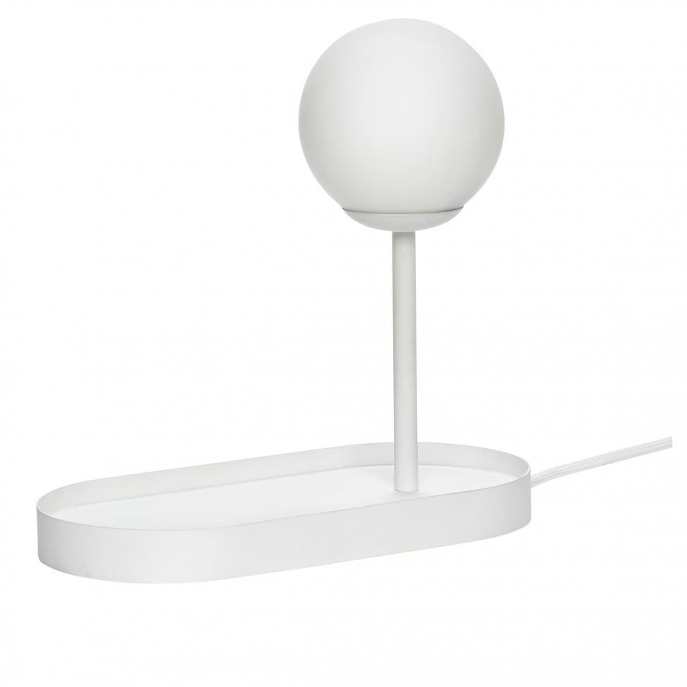 Bordslampa 'Tray' - Vit