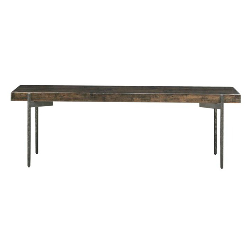 Soffbord 'Close' - Järn/Återvunnet trä