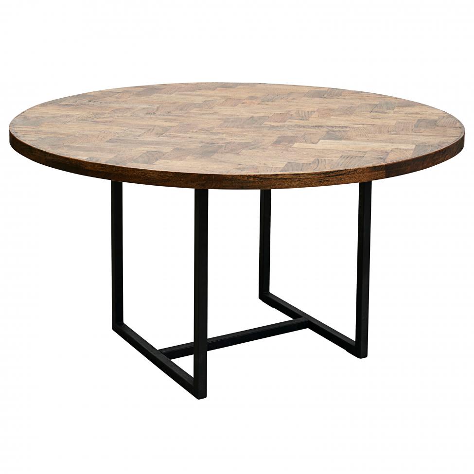 Matbord 'Kant' Runt - Trä Ø140