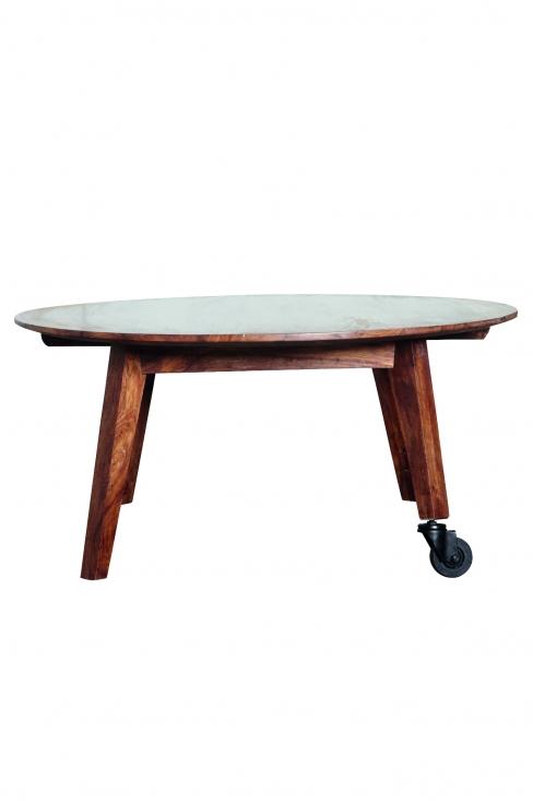 Soffbord - Trä med hjul | Bord - Alla Produkter | | Soffbord