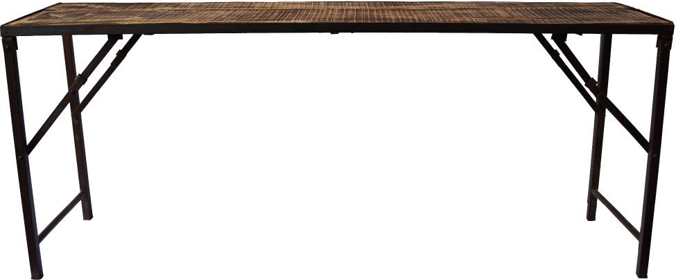 Fällbord - Rustikt trä
