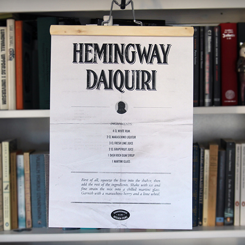 Hemingway Daiquiri - poster & hängare
