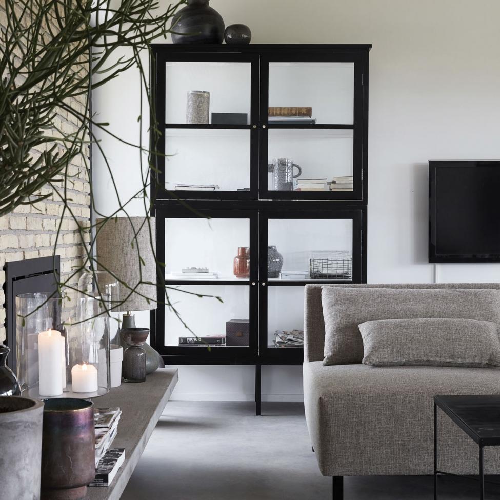 sk p glas svart l reforma sthlm. Black Bedroom Furniture Sets. Home Design Ideas