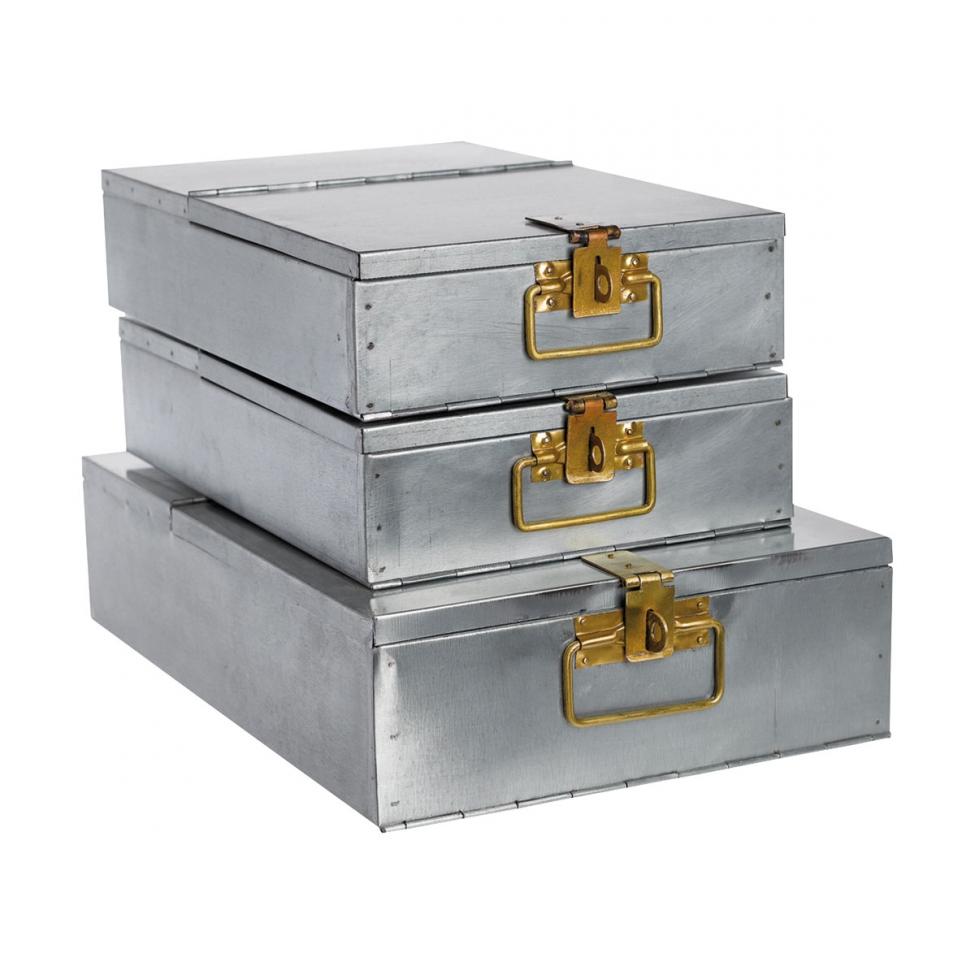 Bank Box' - Järn/Mässing - Liten