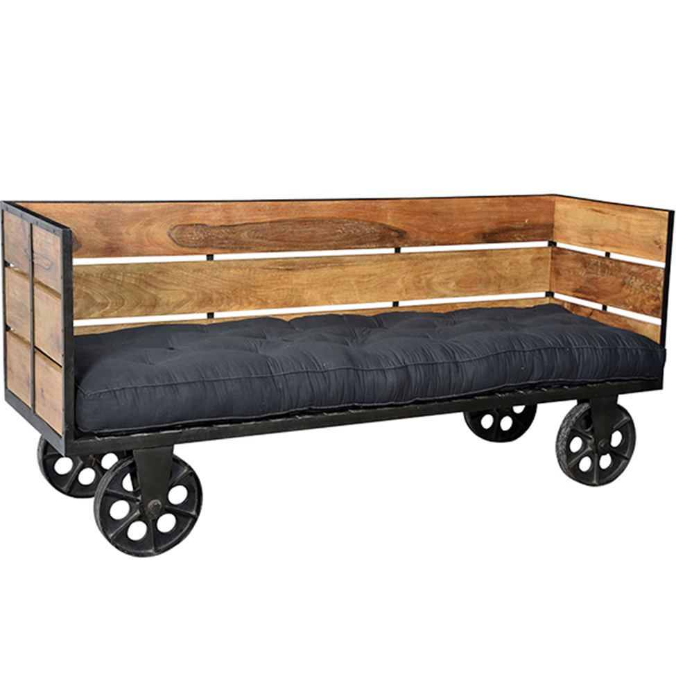 Dagbädd med hjul - vintage