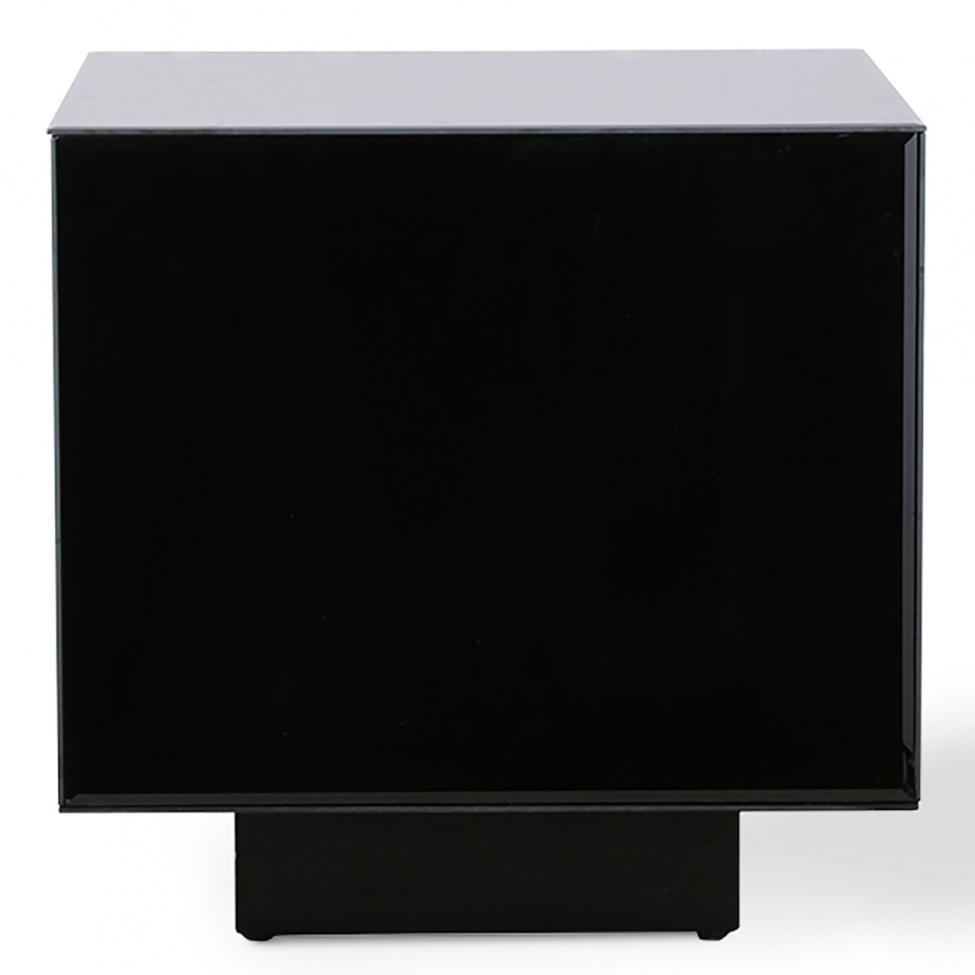 Soffbord 'Block' - Svart/ Spegel S