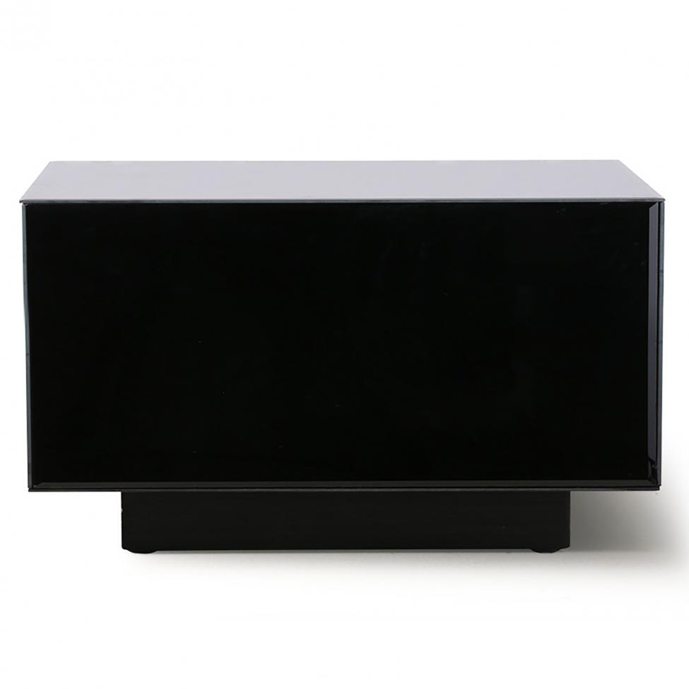 Soffbord 'Block' - Svart/ Spegel L