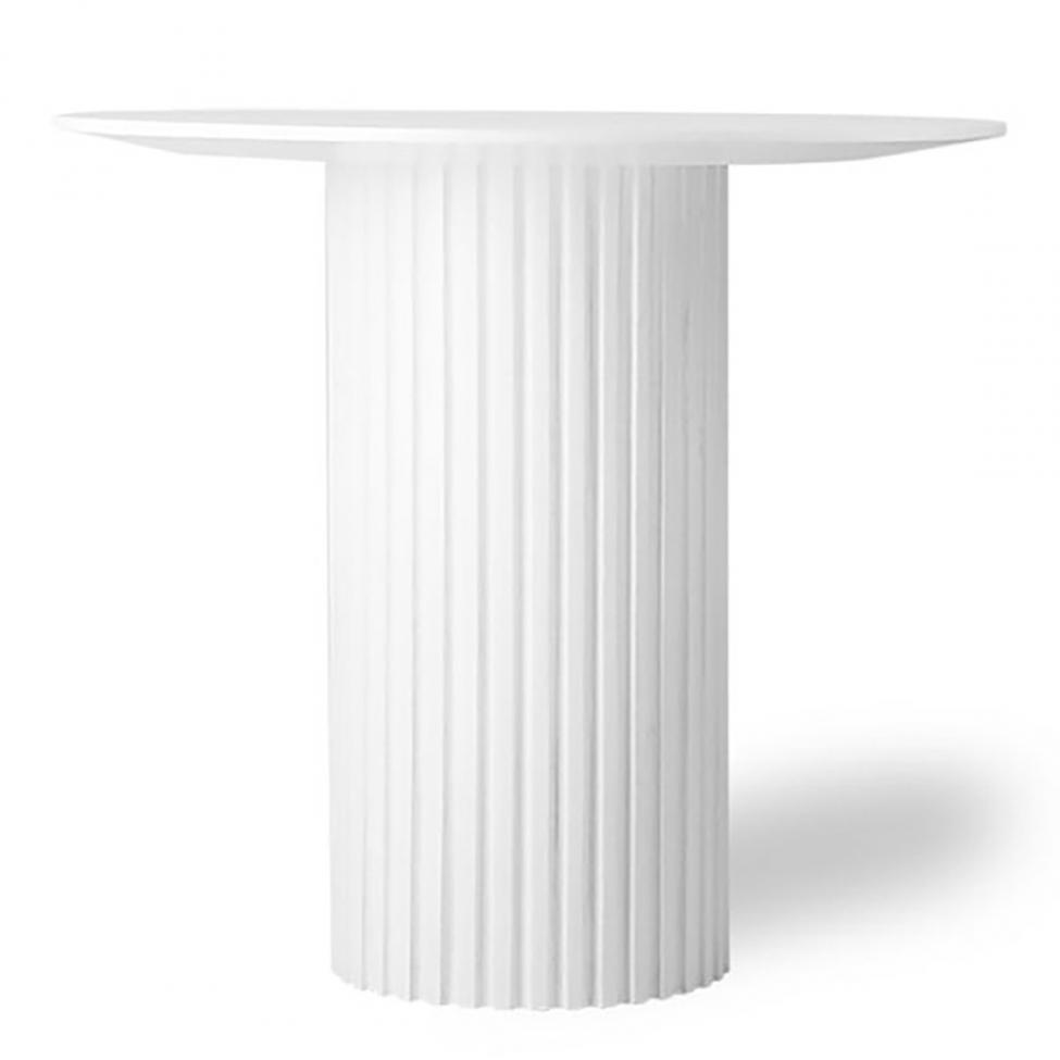 Sidobord 'Pillar' - Vit S