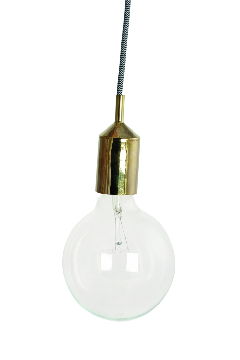 Lampa (guld) House Doctor i trä och metall - Endast 149 SEK