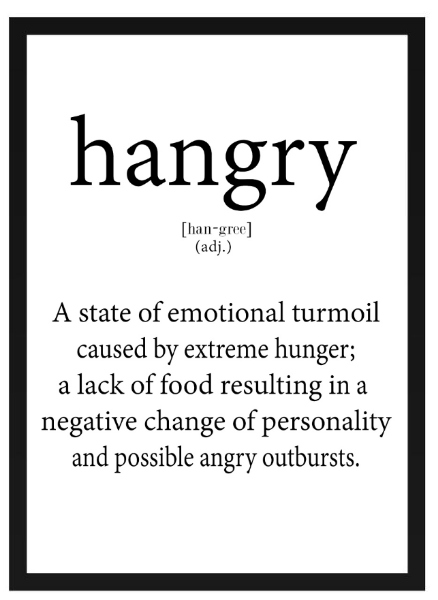 Poster - Hangry