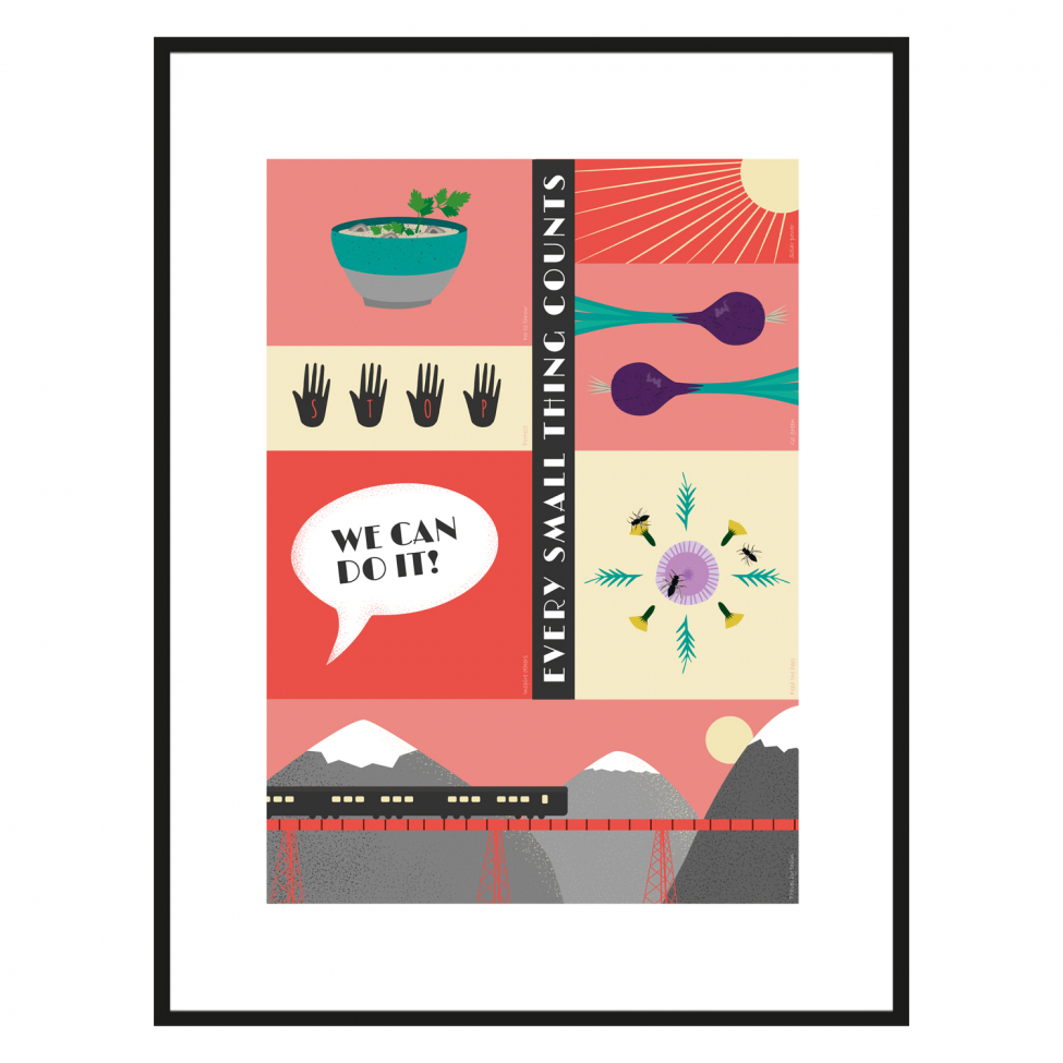 Poster 'We Can Do It' - 50x70