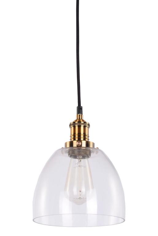 Taklampa vintage - Mässing och glas | Köp lampor hos Reforma Sthlm