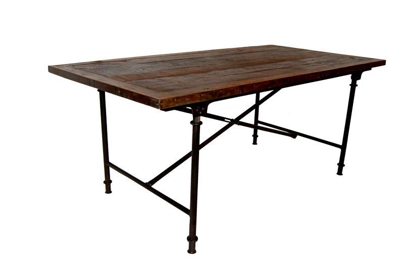 Matbord trä Vintage - 183x93