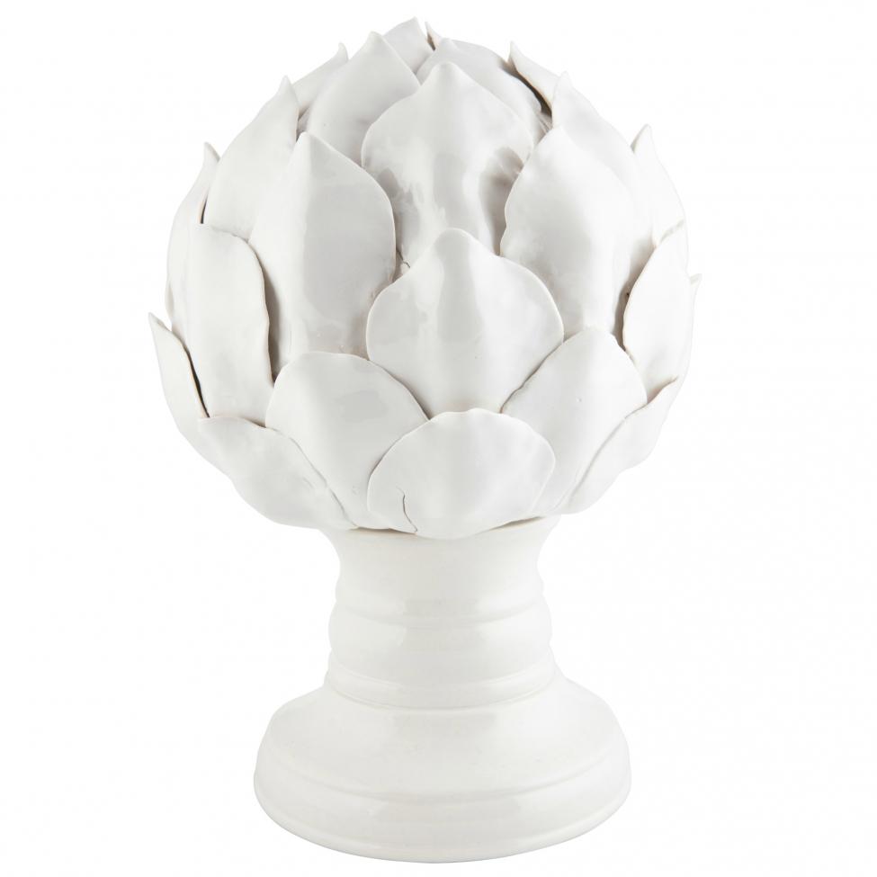 Staty 'Artichoke' - Vit (L)