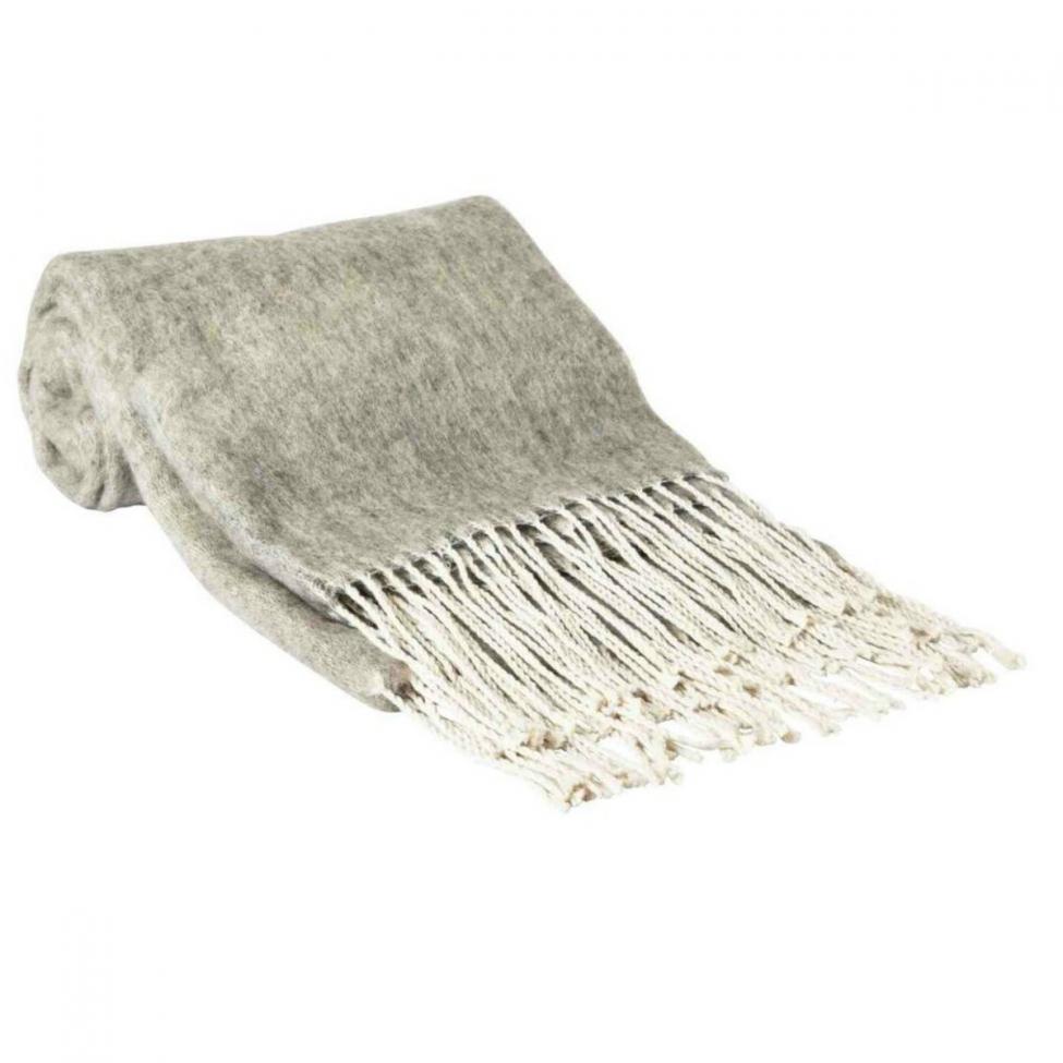 Pläd 'Day Suha blanket' - Grå