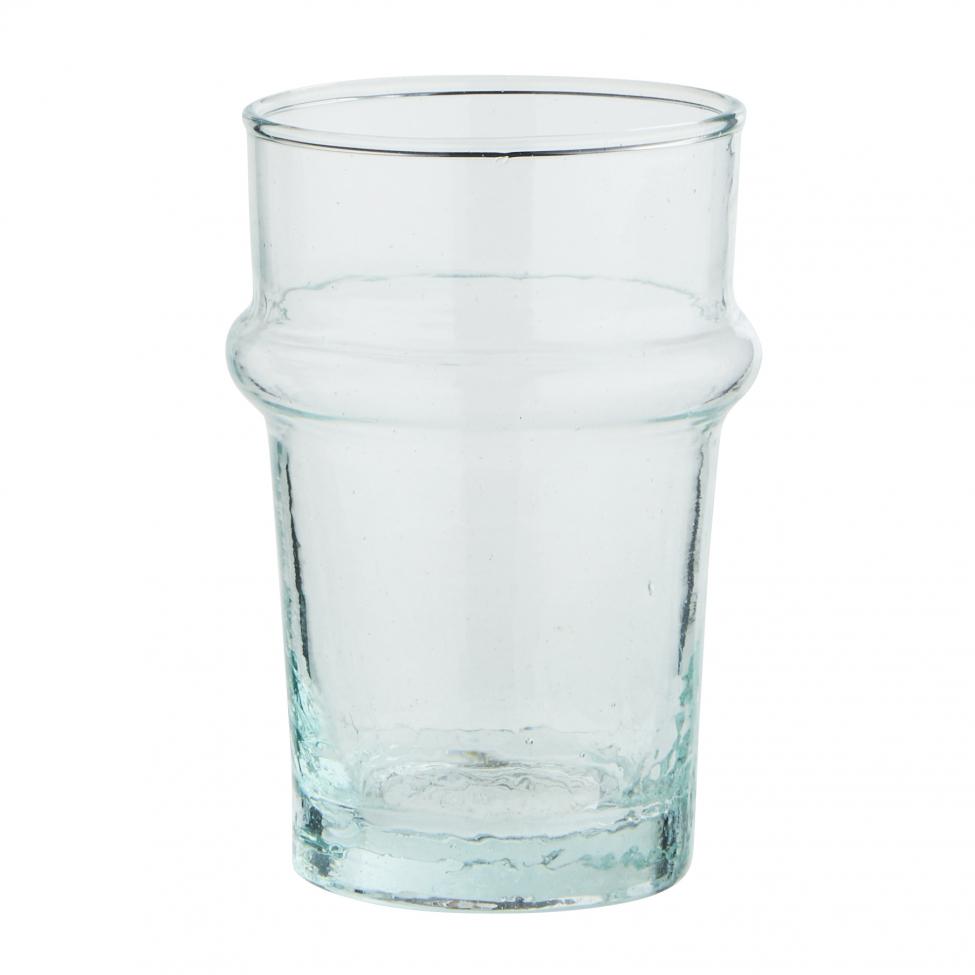 Glas 'Beldi' - Ljusblå 2