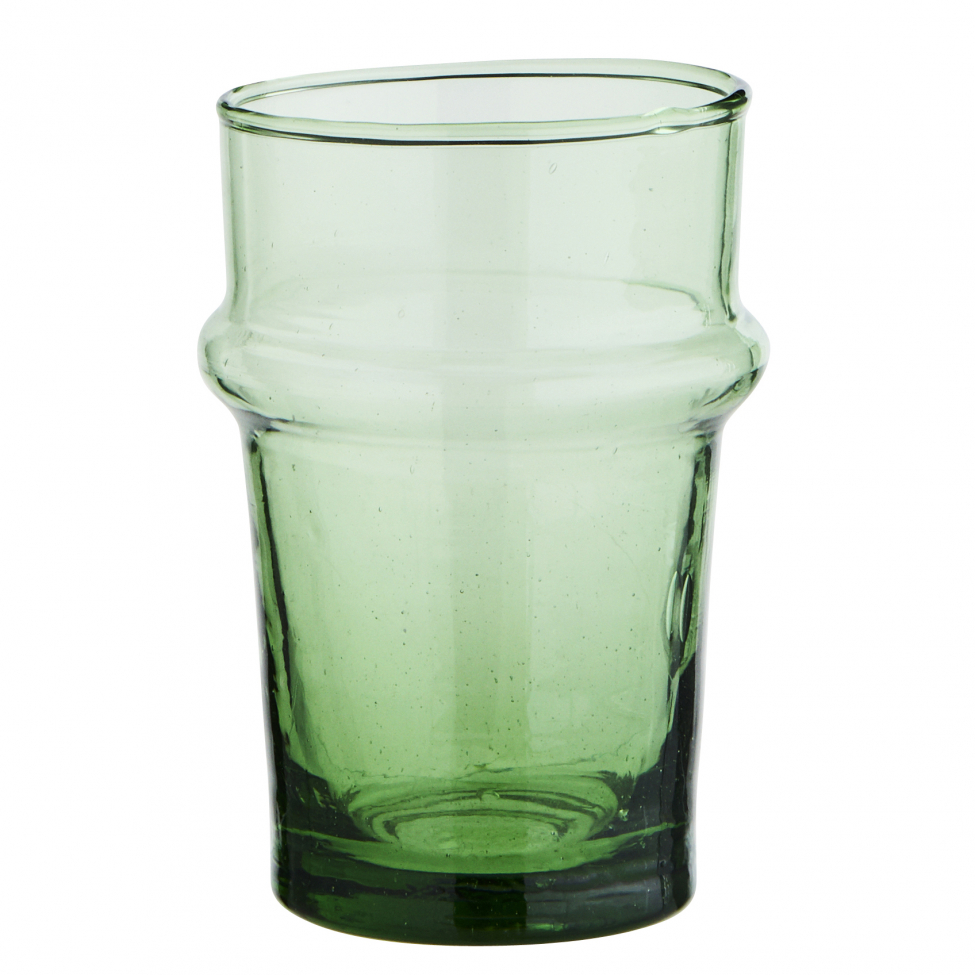 Glas 'Beldi' - Ljusgrön 2