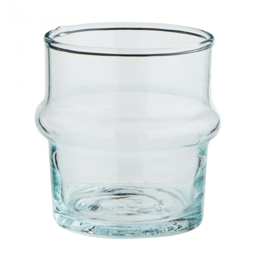 Glas 'Beldi' - Ljusblå 1