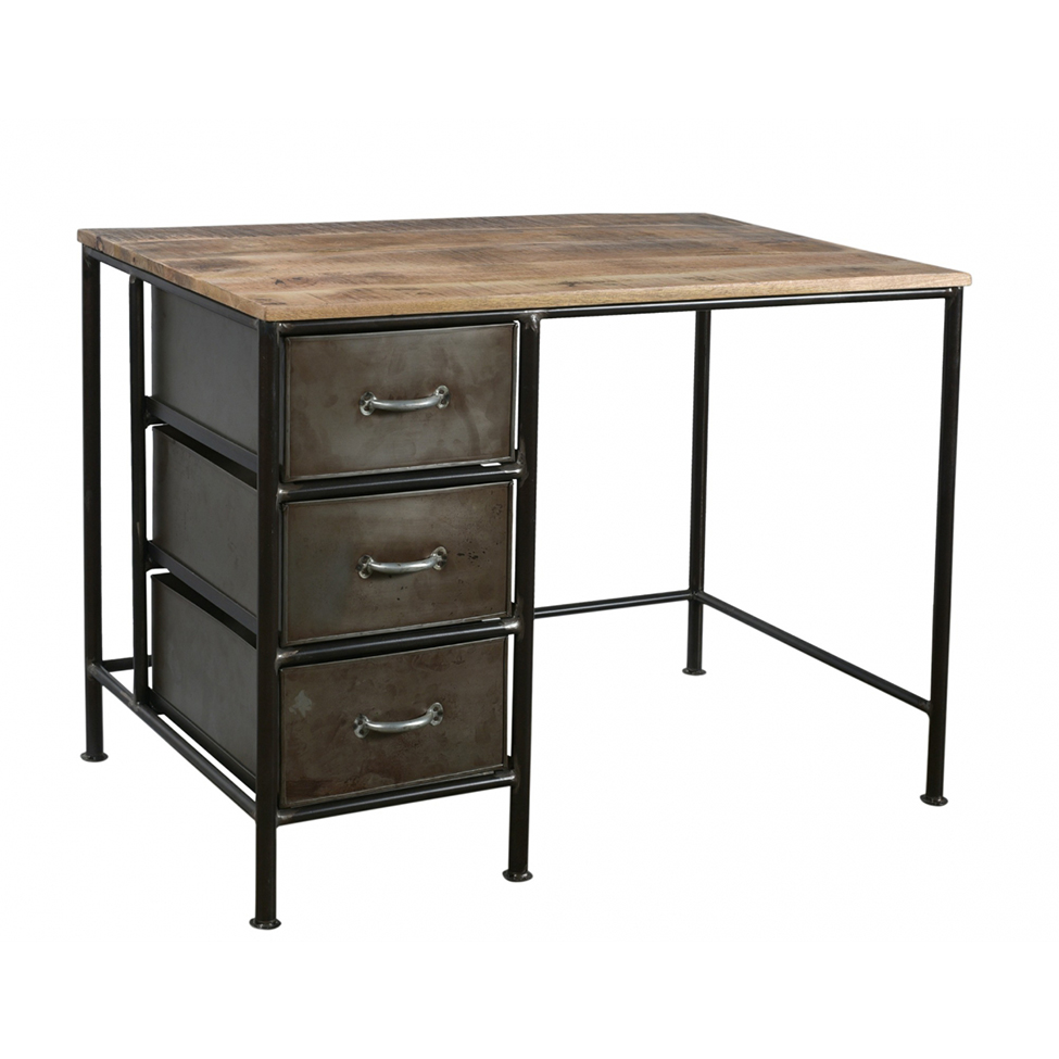 Skrivbord Vintage - Järn/Trä