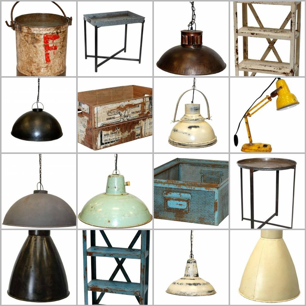 Vintage inredning och loppis möbler