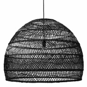 Lampa 'Wicker' - Svart L